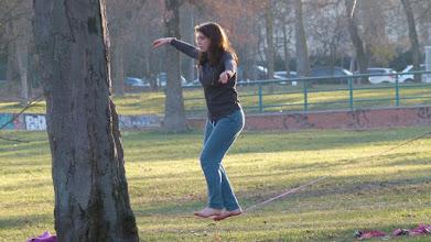 Photo: Equilibrista ai Giardini Margherita