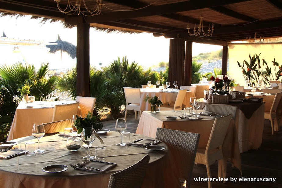 restaurant, fiumara beach