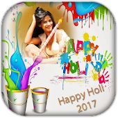 Holi Photo Frame 2018