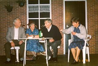 Photo: Piet Philips, Seichien Vedder, Hendrik Buiter en Coby Kamping