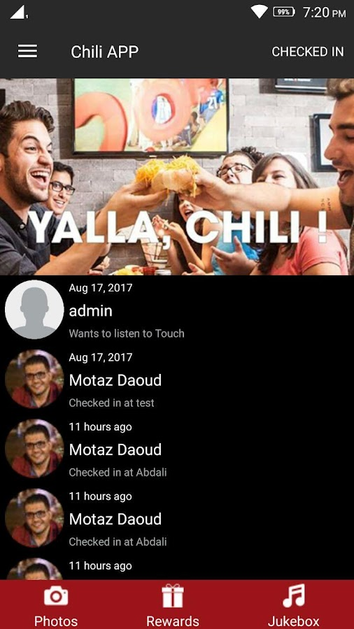 Chili House - Proud to be Jordanian. #YALLACHILI!- screenshot