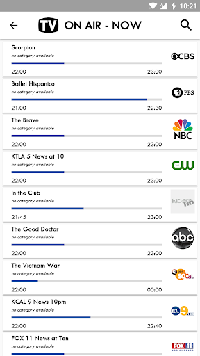 TV USA Free TV Listing 5.8 screenshots 2