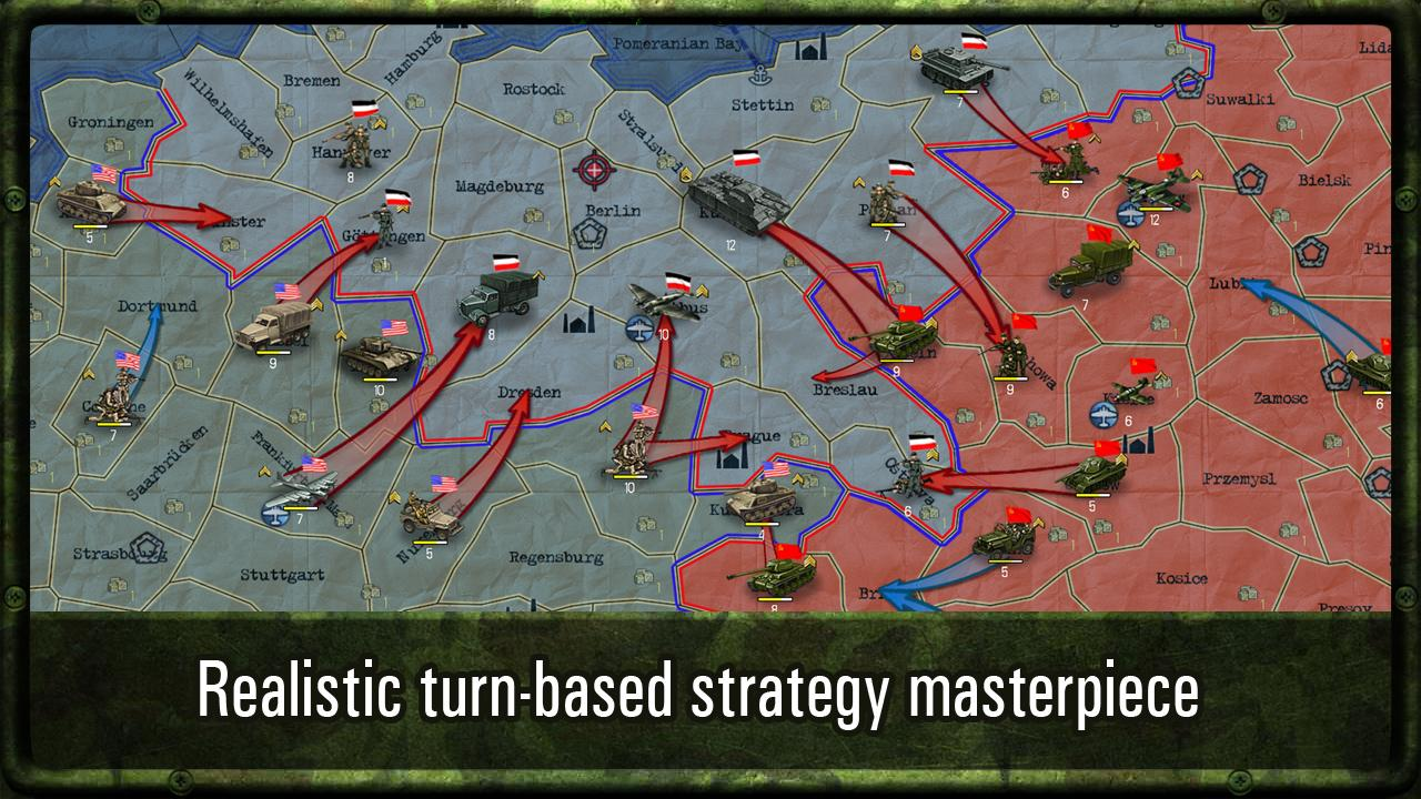 Strategy & Tactics: WW II- screenshot