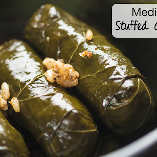 Mediterranean Stuffed Grape Leaves {Dolmas}