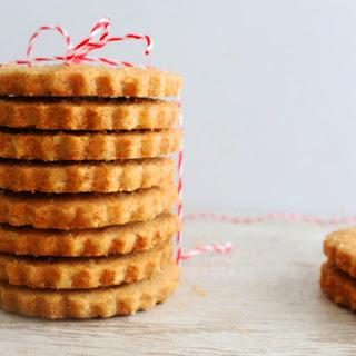 Whole-Wheat Walnut Shortbread Cookies.