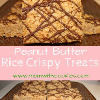 Peanut Butter Rice Crispy Treats.