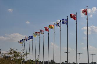 Photo: Die Flaggen aller Provinzen Kanadas
