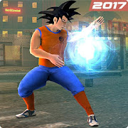 Son Goku Epic Battle City Hero