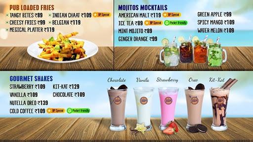 The Burger Pub menu 2