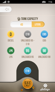 Gas Now - Prices comparator- screenshot thumbnail