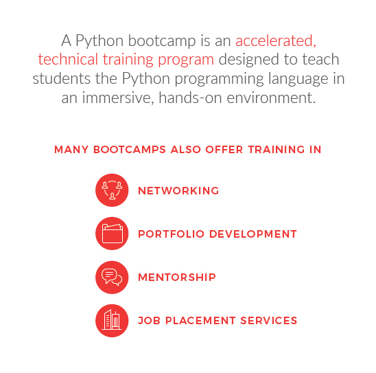 learn python at a bootcamp