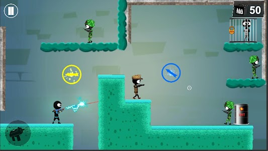 Stickman Shooter: Elite Strikeforce 6.1 (Mod Money)