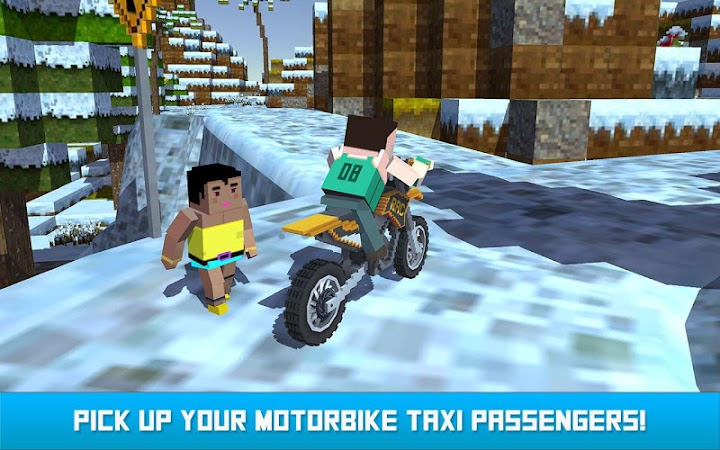 Blocky Moto Bike SIM: Winter Breeze v1.4