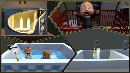Code Triche simulateur de vraie mu00e8re: jumeau bu00e9bu00e9 3D APK MOD screenshots 5