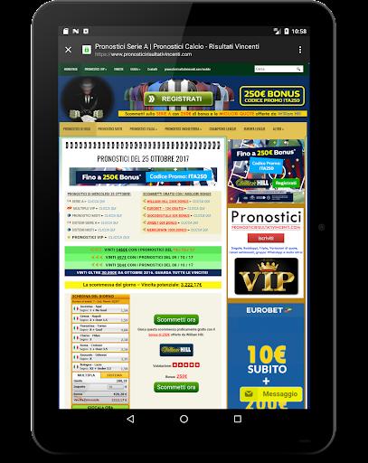 एंड्रॉइड / पीसी के लिए Pronostici Risultati Vincenti ऐप्स (apk) मुफ्त डाउनलोड screenshot