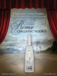 Logo for Rime Organic Vodka