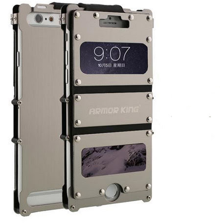 coque iphone 8 inox