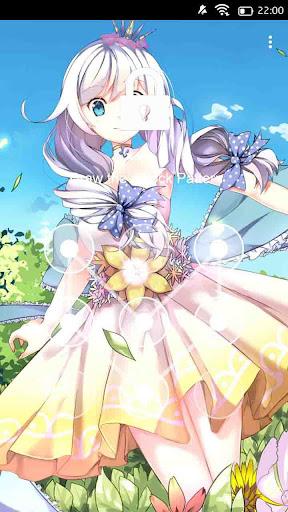 Anime girl 56 Theme