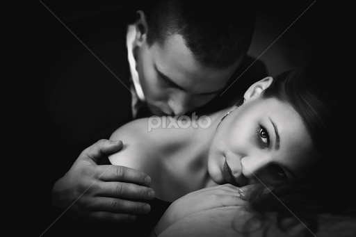 That sensual couples black and white