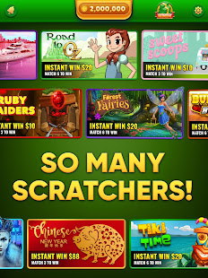Lucky Scratch WIN REAL MONEY- it's your LUCKY DAY for PC / Windows 7