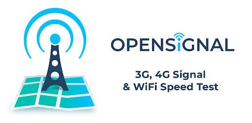 Test de vitesse 3G & 4G Opensignal – Applications sur Google Play