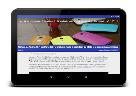 Smartphone Italia- screenshot thumbnail