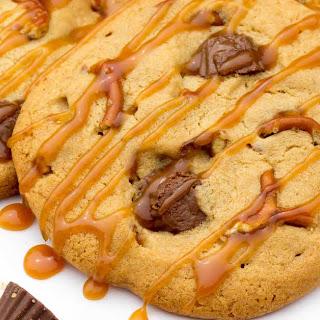 Peanut Butter Cup Pretzel Cookies