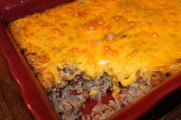 BLONDIE'S NEW YEAR'S DAY BLACK-EYED PEA CASSEROLE