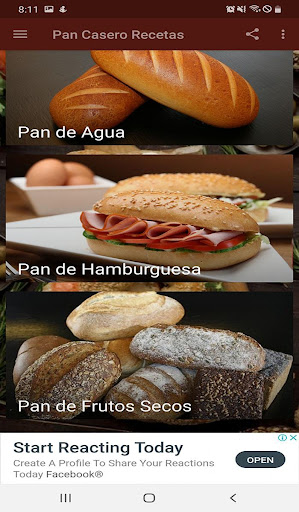 Pan Casero Recetas 1.0 screenshots 4