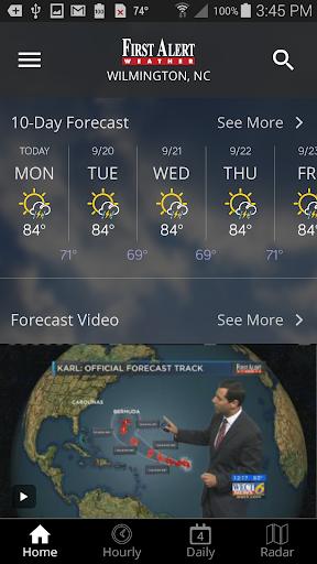 WECT 6 First Alert Weather screenshot 5