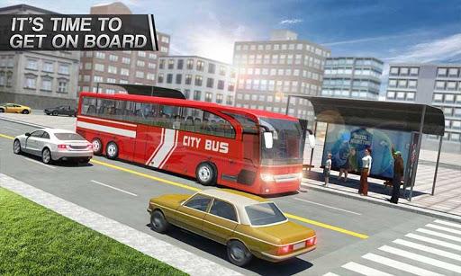 Coach Bus Simulator - City Bus Driving School Test 1.7 screenshots 5