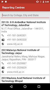NIT - JoSAA Admission 2017- screenshot thumbnail