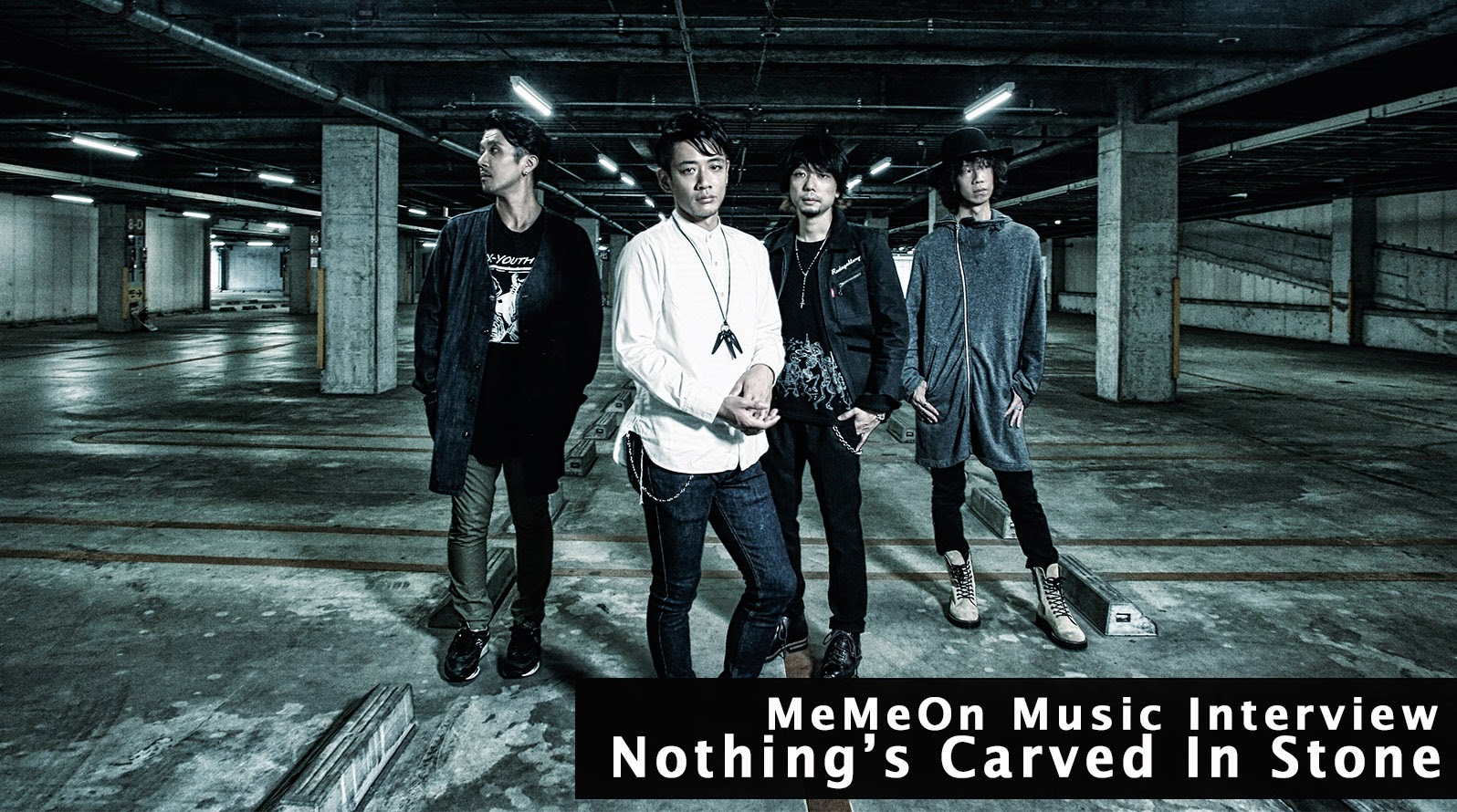 Nothing's Carved In Stone台灣公演前インタビュー