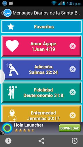 Mensajes Diarios Santa Biblia screenshot 4