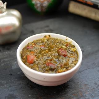 Khoresh Ghormeh Sabzi - Persian Herb Stew
