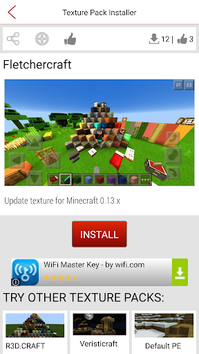 Texture Pack Installer to MCPE