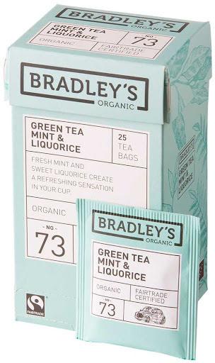 Grönt te med lakrits – Bradley´s