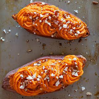 Twice Baked Sweet Potatoes.