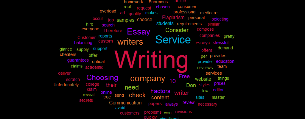 10 Factors to Consider when Choosing an Essay Writing Service