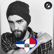 Dominican Flag Heart Effect : Photo Editor APK