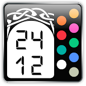 24/12 Celtic Gear Fit Clock