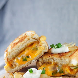 Perogy Grilled Cheese