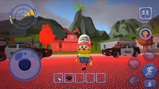 Scary Clown Sponge Vader Neighbor. Escape apkdebit screenshots 3