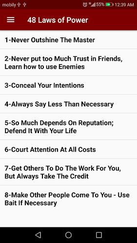 download 48 laws of power list robert