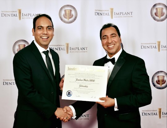 Dr. Darshan Naidu Dental Implants Award