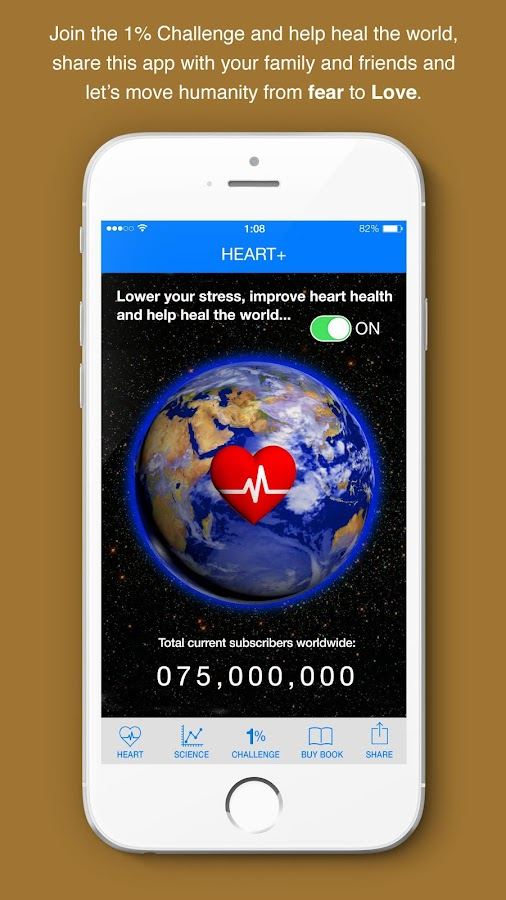 Heart+- screenshot
