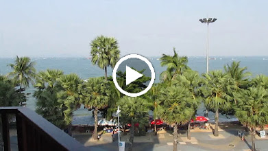 "Video: Pattaya beach; from ""Charming Inn "" hotel"