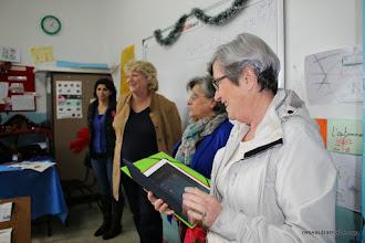 Photo: Visite de l'école grecque melkite à Ramallah