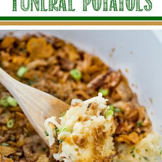 Crock Pot Funeral Potatoes.