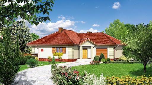 projekt Dom przy Bajecznej